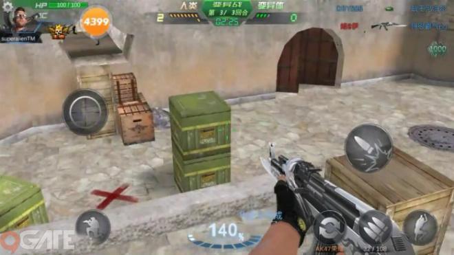 Nhìn chung, Phản Kích mobile có lối chơi tương tự như webgame Truy Kích,  nhưng cơ chế chiến đấu sẽ được tối ưu hóa để sử dụng trên các thiết bị di  động ...
