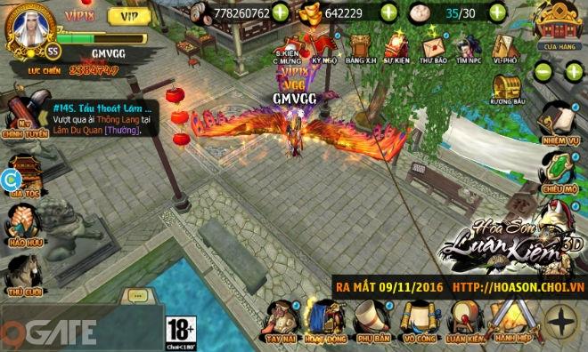 Điểm Tin Sáng 8/11: Hoa Sơn Luận Kiếm 3D mở tải, ra mắt chính thức vào 10h 09/11