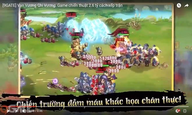 Vạn Vương Chi Vương: Game chiến thuật 2.6 tỷ cách xếp trận