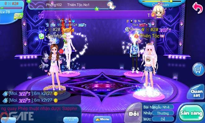 Au Mobile: Lovey Dovey Dance Version