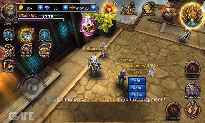 Cabal Mobile: Các class chủ đạo trong game