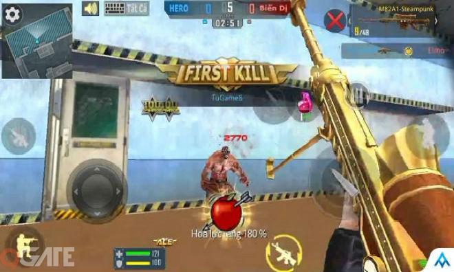 Phục Kích Mobile: Trải nghiệm 3z SteamPunk chế độ Zombie