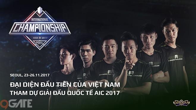Liên Quân Mobile: Pro Army - đại diện đầu tiên của Việt Nam tham dự giải quốc tế AIC là ai?