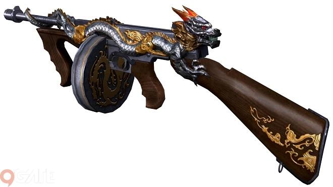 Phục Kích Mobile: Game thủ đã có thể chiến đã tay với Thompson Infernal Dragon