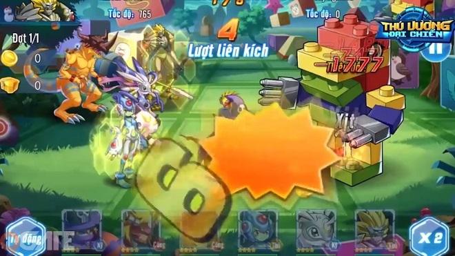 Thú Vương Đại Chiến: Skill siêu khủng của Digital Monster - Digimon