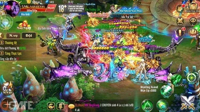 Kỵ Sĩ Rồng: Hướng dẫn bí kíp cày cấp
