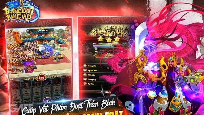 """Cùng soi cơ chế chiến đấu """"một chạm"""" trong game thẻ tướng Hoàng Đao Kim Giáp"""