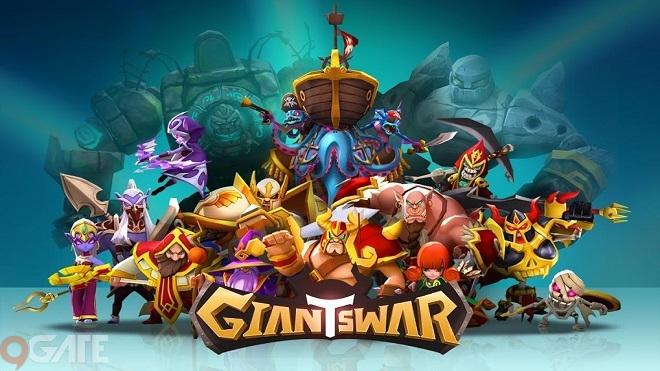 Giants War: Game 3D RPG của nhà phát hành GAMEVIL đã chính thức mở cổng đăng ký trước