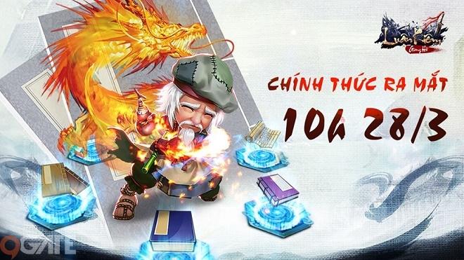 10h sáng 28/3, Luận Kiếm Giang Hồ chính thức ra mắt