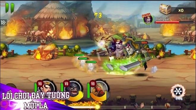 3Q VL: Game Tam Quốc với lối chơi