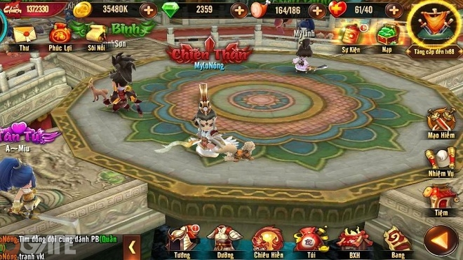 Tiểu Tiểu Ngũ Hổ Tướng: Tính năng mới Thần binh
