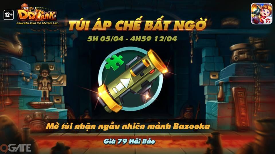 DDTank Garena: Bí quyết sử dụng siêu vũ khí Bazooka – Hỏa lực thần tốc - ảnh 3