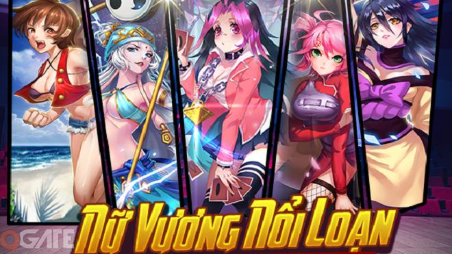 Nữ Vương Nổi Loạn: Game Manga chính thức ra mắt ngay hôm nay