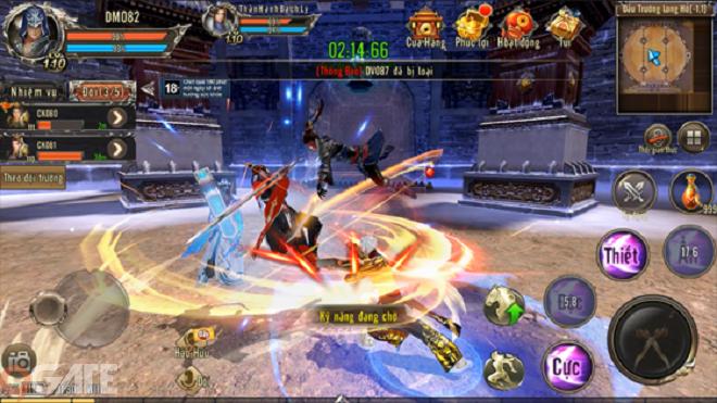 360mobi Kiếm Khách VNG: Long tranh hổ đấu (chiến trường 3v3)