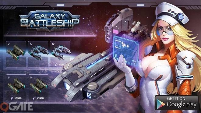 Chiến Hạm Ngân Hà: Game chủ đề chiến tranh vũ trụ ra mắt trong tháng 5