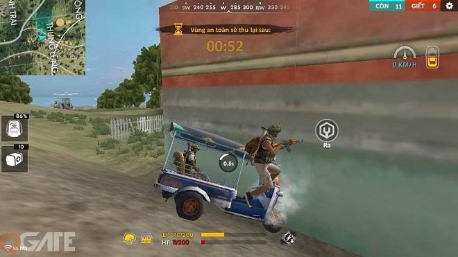 Free Fire Mobile: Để chiến thắng trong chế độ Đua xe bắn súng cần phải làm gì?