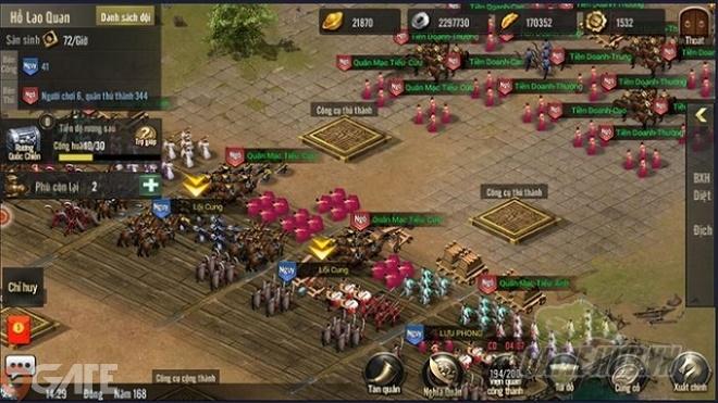 Tam Quốc Truyền Kỳ Mobile: Quốc Chiến - Chiến trường hội tụ game thủ SLG