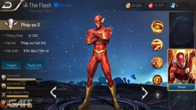 Liên Quân Mobile: Hướng dẫn chơi The Flash phong cách ADN Blake1