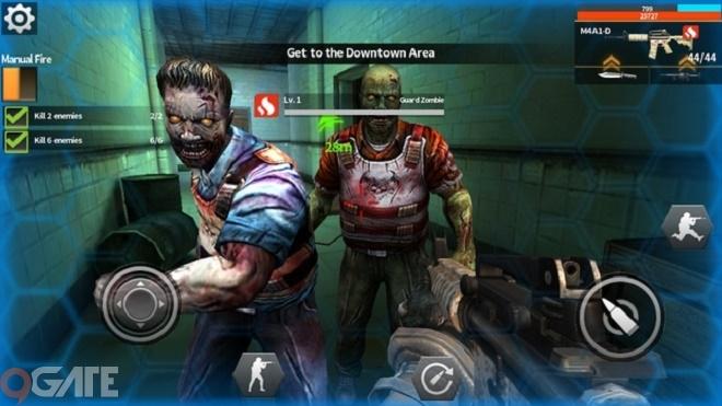 Phản Kích Mobile: Đón hè rùng rợn trong thành phố zombie