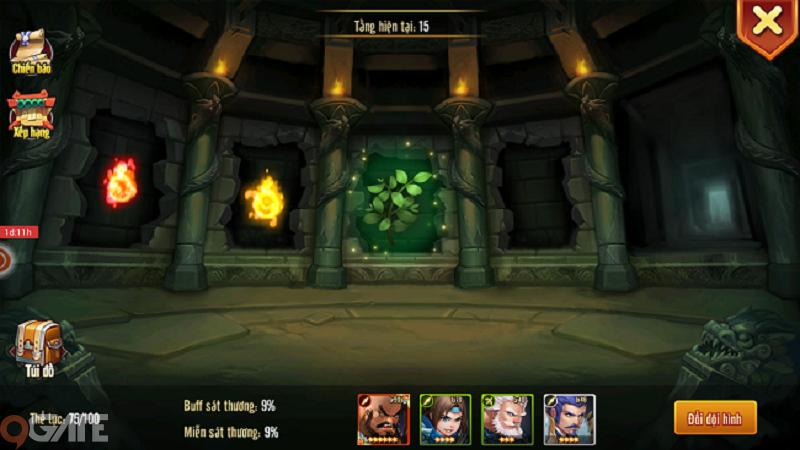 Tam Quốc GO: Thám hiểu lăng mộ