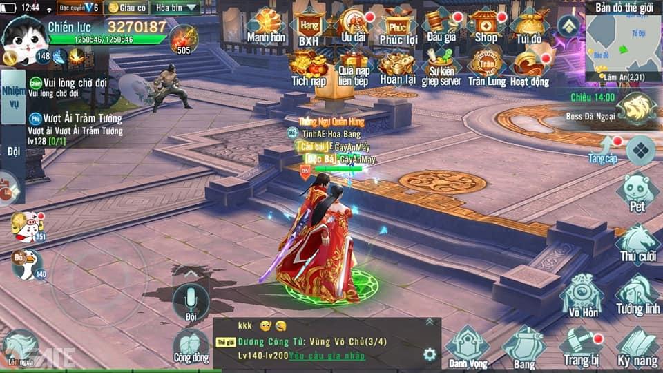 Nhất Kiếm Giang Hồ Mobile: Trải nghiệm chất tình trong một game nhập vai cày quốc