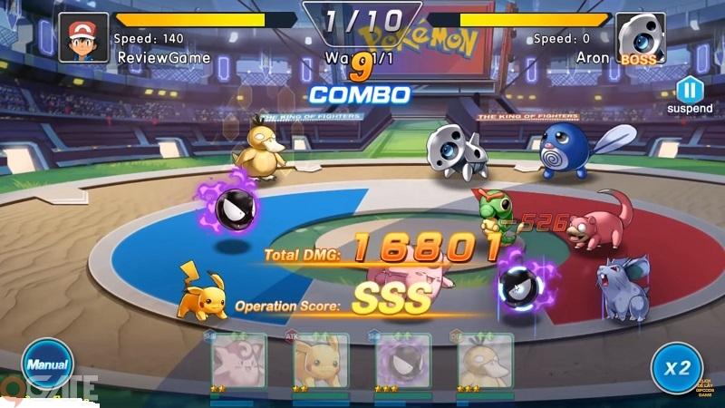 Thần Thú Siêu Phàm Mobile: Game Pokemon mang lối chơi đối kháng cập bến Việt Nam