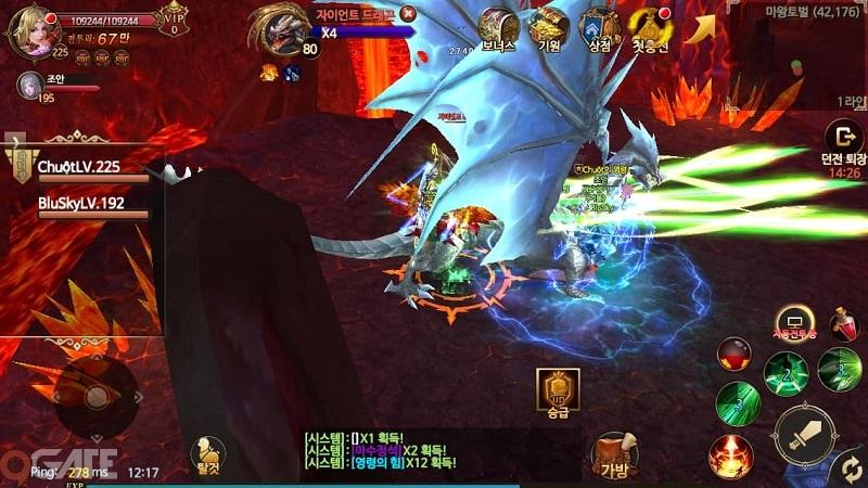 Thánh Chiến 3D: Hoạt động liên server