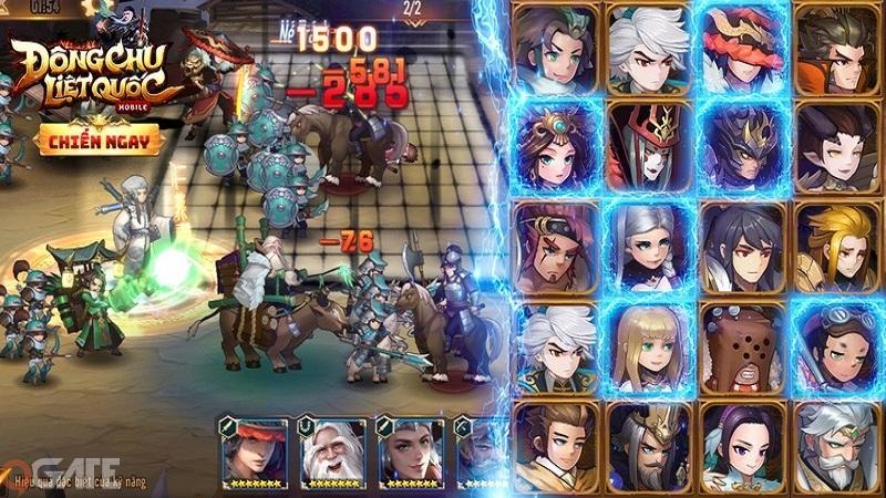 Đông Chu Liệt Quốc Mobile đưa toàn quyền Hoàng Đế vào tay người chơi