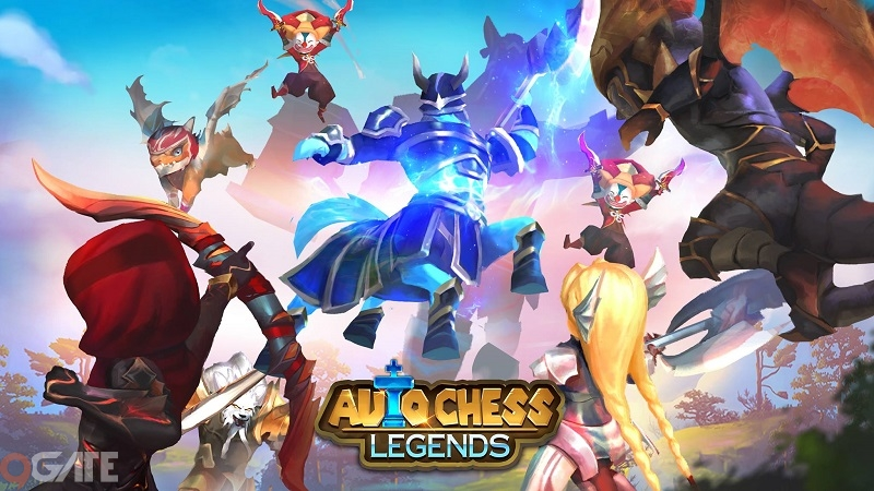 Game Việt Auto Chess Legends mở Alpha Test