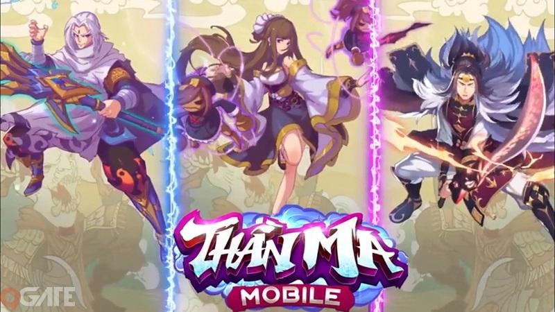 Thần Ma Mobile: Dàn nhân vật tiên hiệp hùng hậu