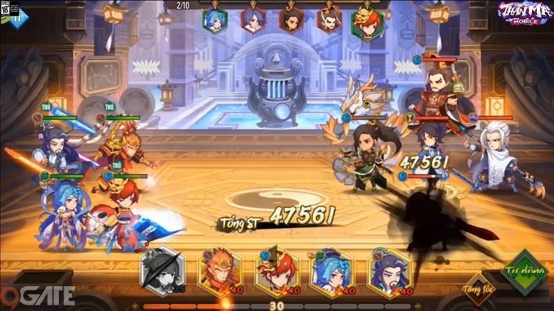 Thần Ma Mobile: Thánh Hỏa Thiên Quân