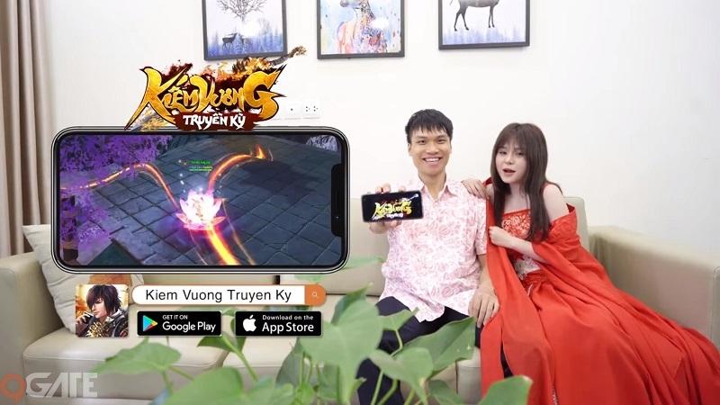 Kiếm Vương Truyền Kỳ: Chơi game có hotgirl đồng hành