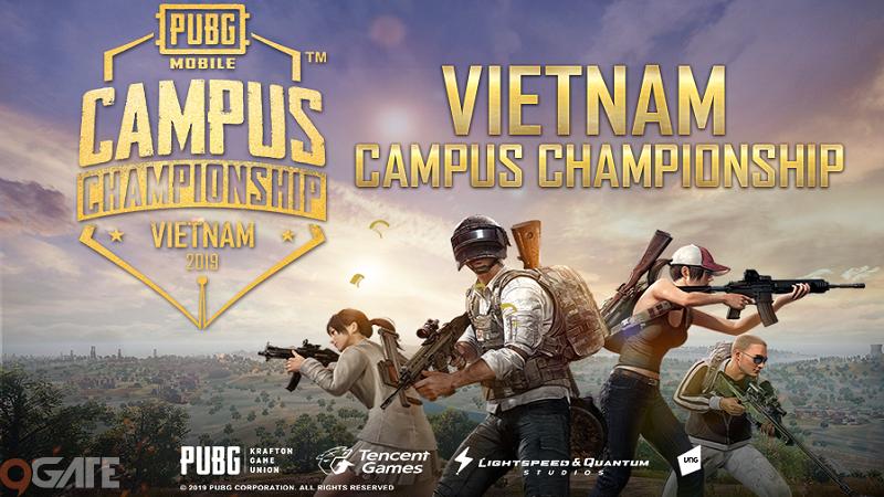 Vietnam Campus Championship 2019: Giải đấu PUBG Mobile cực hot dành cho sinh viên