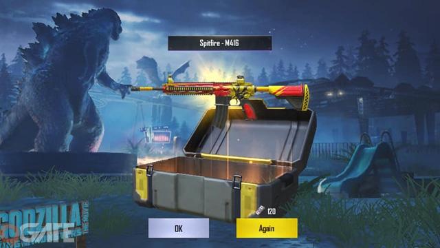 Game thủ PUBG Mobile VN phát rồ khi Hòm đồ cao cấp chưa có skin Godzilla để mở