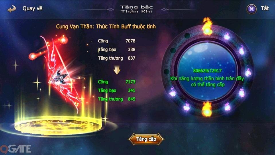 Thánh Chiến 3D: Hệ Thống Thần Khí
