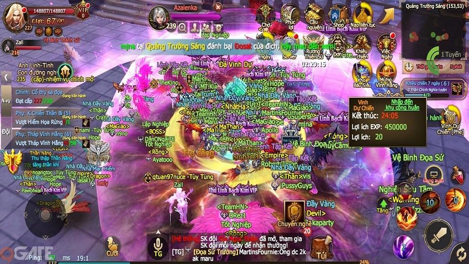 Game thủ Việt cày quá ghê, Thánh Chiến 3D vội vã update ngay sau 1 tuần ra mắt để mở cấp, thêm Boss
