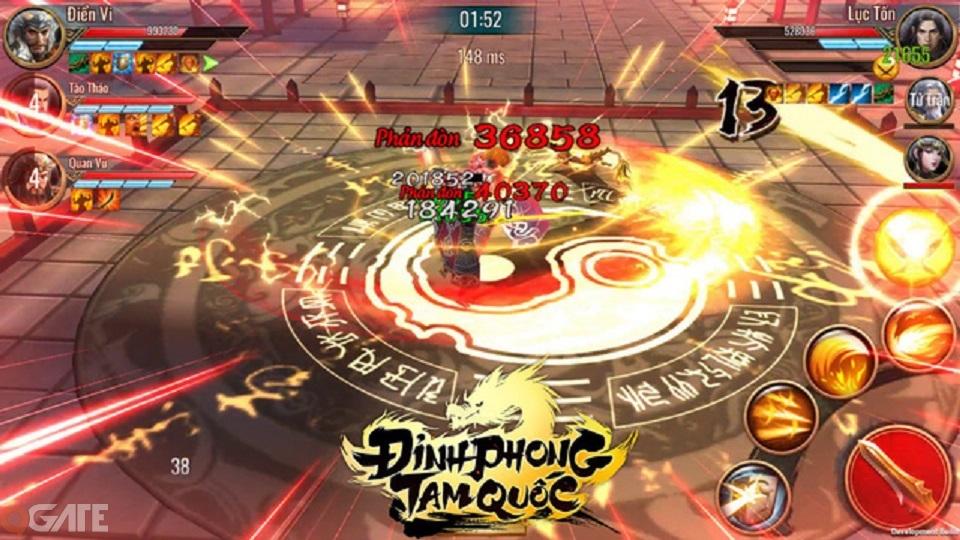 Đỉnh Phong Tam Quốc: Game hành động nhập vai bất ngờ ra mắt vào tháng 7/2019