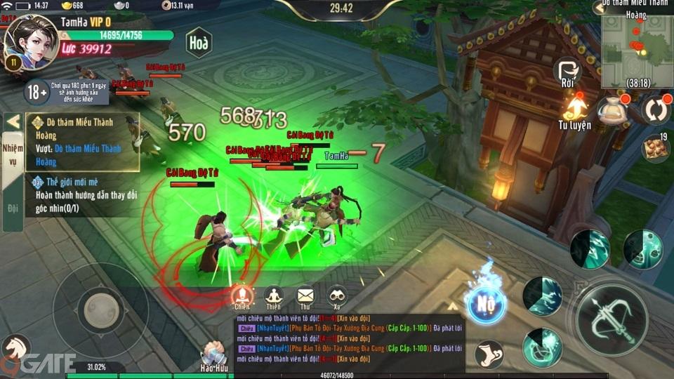 Ngạo Kiếm Vô Song Mobile: Trailer Game