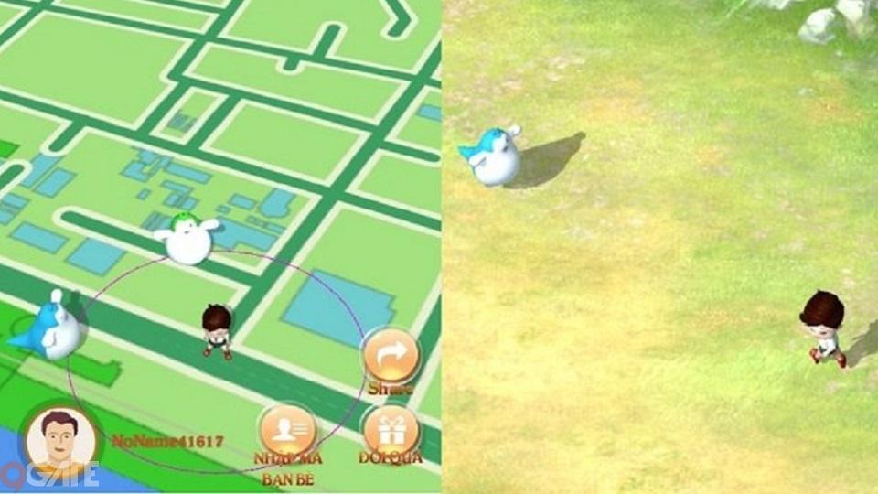 Cận cảnh TS GO: Game bắt thú cưng mang phong cách Pokemon