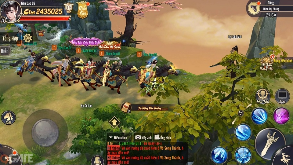 Tiêu Dao Mobile: Game nhập vai bối cảnh hậu Thiên Long Bát Bộ sẽ được phát hành trong tháng 9/2019