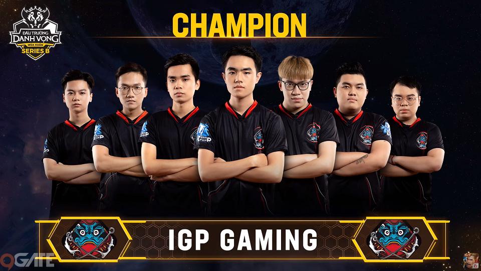 Liên Quân Mobile: Cấm thẳng dàn tướng tủ của ADC, IGP Gaming khuất phục Team Flash và giành ngôi đầu