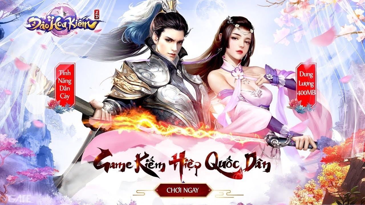 Đào Hoa Kiếm: Trailer Game