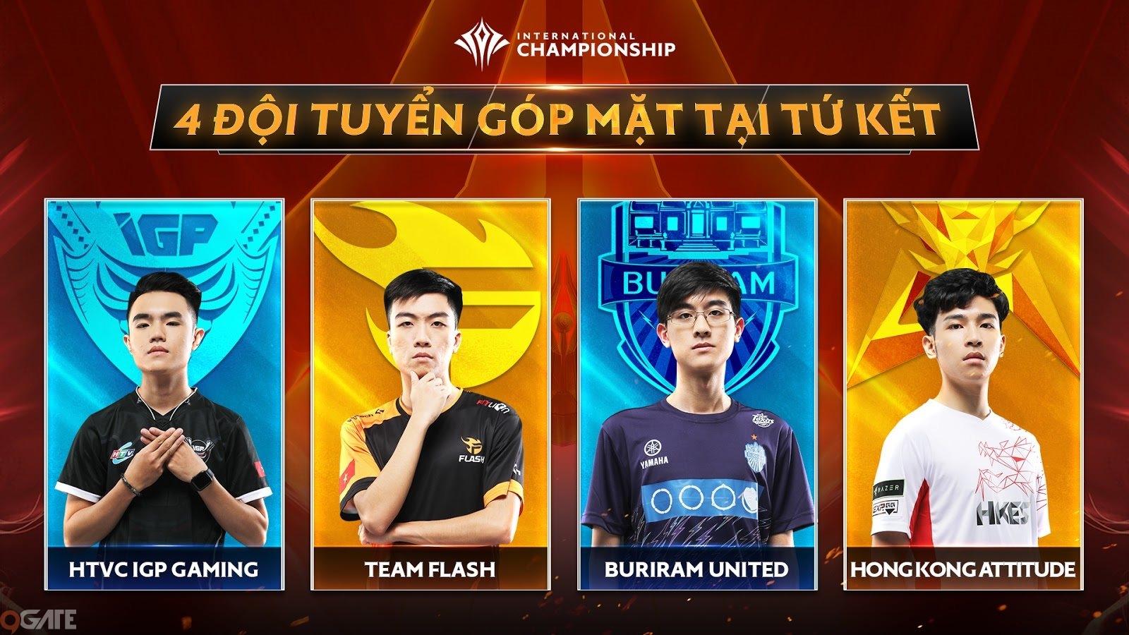 AIC 2019 khép lại vòng tứ kết, công bố lịch bán kết và chung kết diễn ra tại Thái Lan