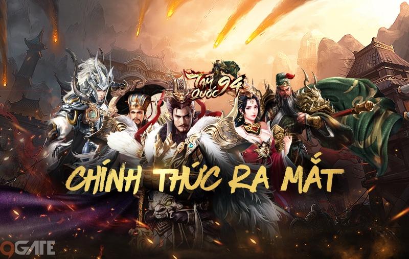"""Tam Quốc 94 - """"kẻ dị biệt"""" của làng game Việt 2019 chính thức ra mắt 10h00 hôm nay, 27/11"""