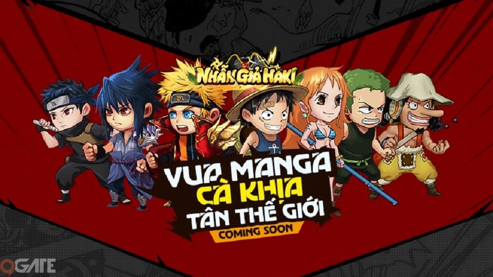 Funtap sẽ trình làng tựa game manga mới siêu hài hước - Nhẫn Giả Haki
