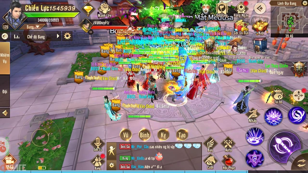 Thiên Kiếm Mobile: Giải đấu Tuyệt thế chiến thần mù III