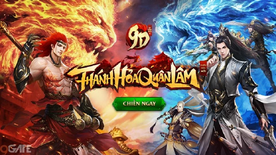 """Hàng ngàn Gittcode tặng game thủ từ Phiên bản lớn """"Thánh Hỏa Quân Lâm"""" của 9D Truyền Kỳ"""