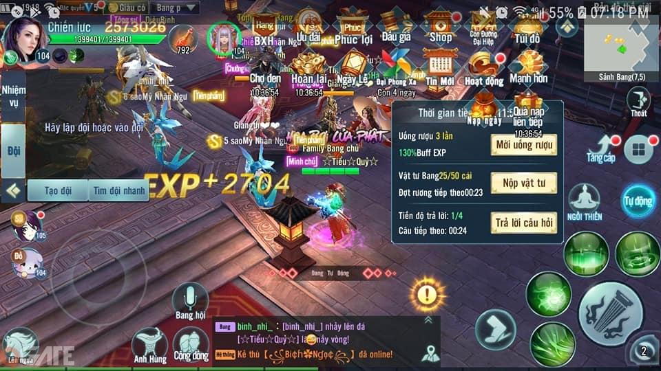 Game thủ Nhất Kiếm Giang Hồ thích thú với tính năng chuyển phái trong bản Big Update 12.0
