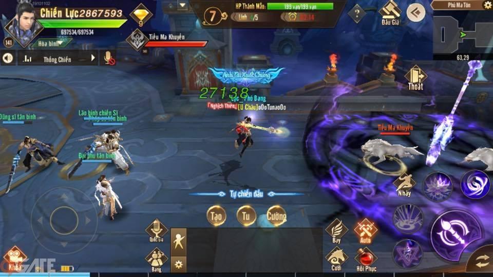 Thiên Kiếm Mobile: Ra mắt phiên bản 4.8 Nhất Đại Tông Sư