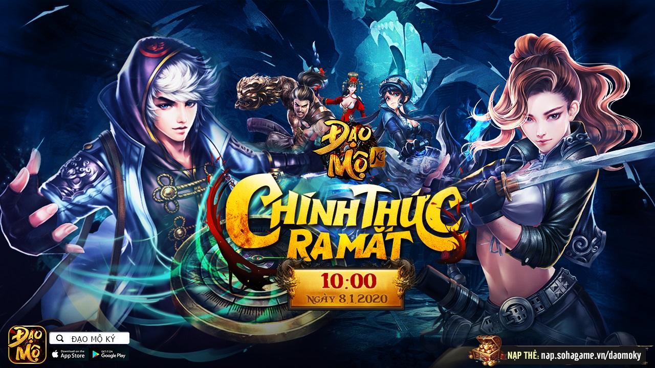 Đạo Mộ Ký Mobile: Game nhập vai phiêu lưu thế giới mở đầu tiên tại Việt Nam chính thức ra mắt